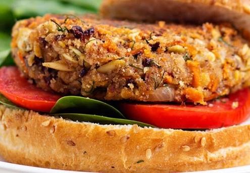 receta hamburguesa vegetariana